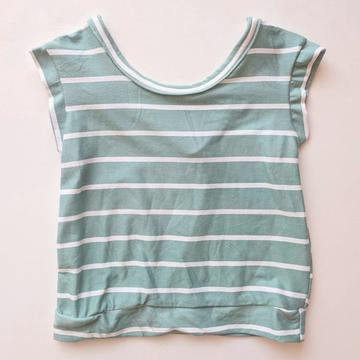 Mint Striped Xaria Top