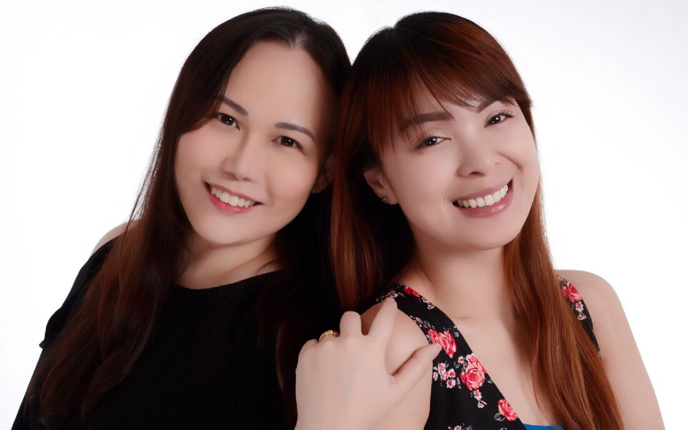 The owners of Celebrity Nails, Jean Capistrano and Lovella Cantos-Delos Santos