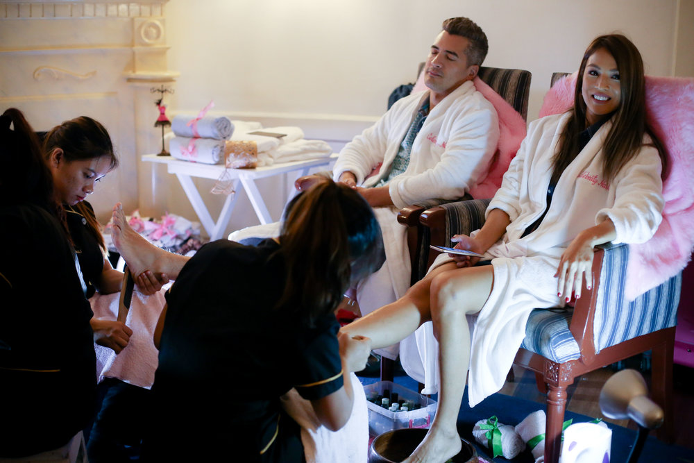Spa party packages - Celebrity Nails Spa Parties have become of the most reliable, most popular event tool of choice by many Celebrities and VIP elites.