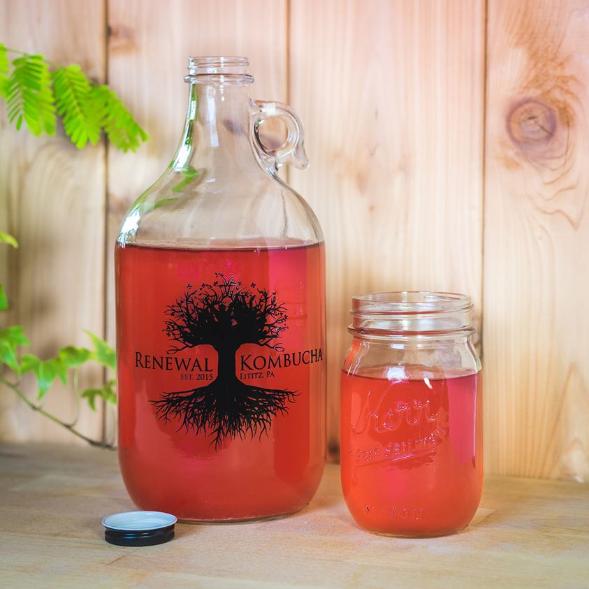 Green Ridge Acres offers the only three-flavor  kombucha  tap in Harrisburg. We serve Renewal Kombucha in refillable glass containers or bottles. Your choice!