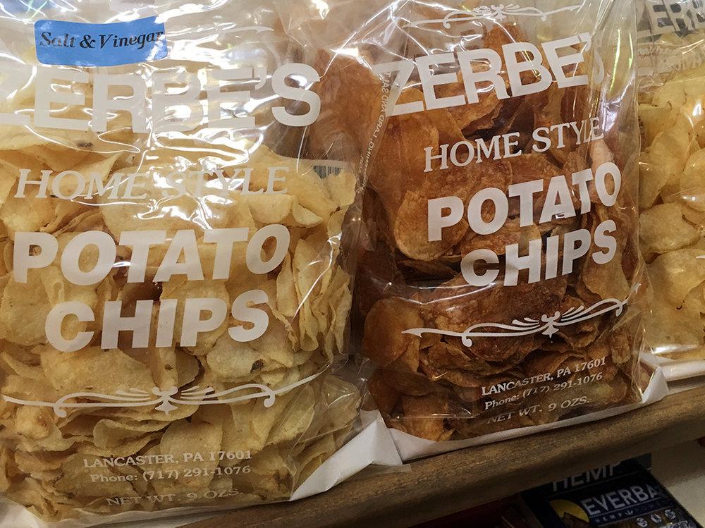 Zerbe's Homestyle Potato Chips