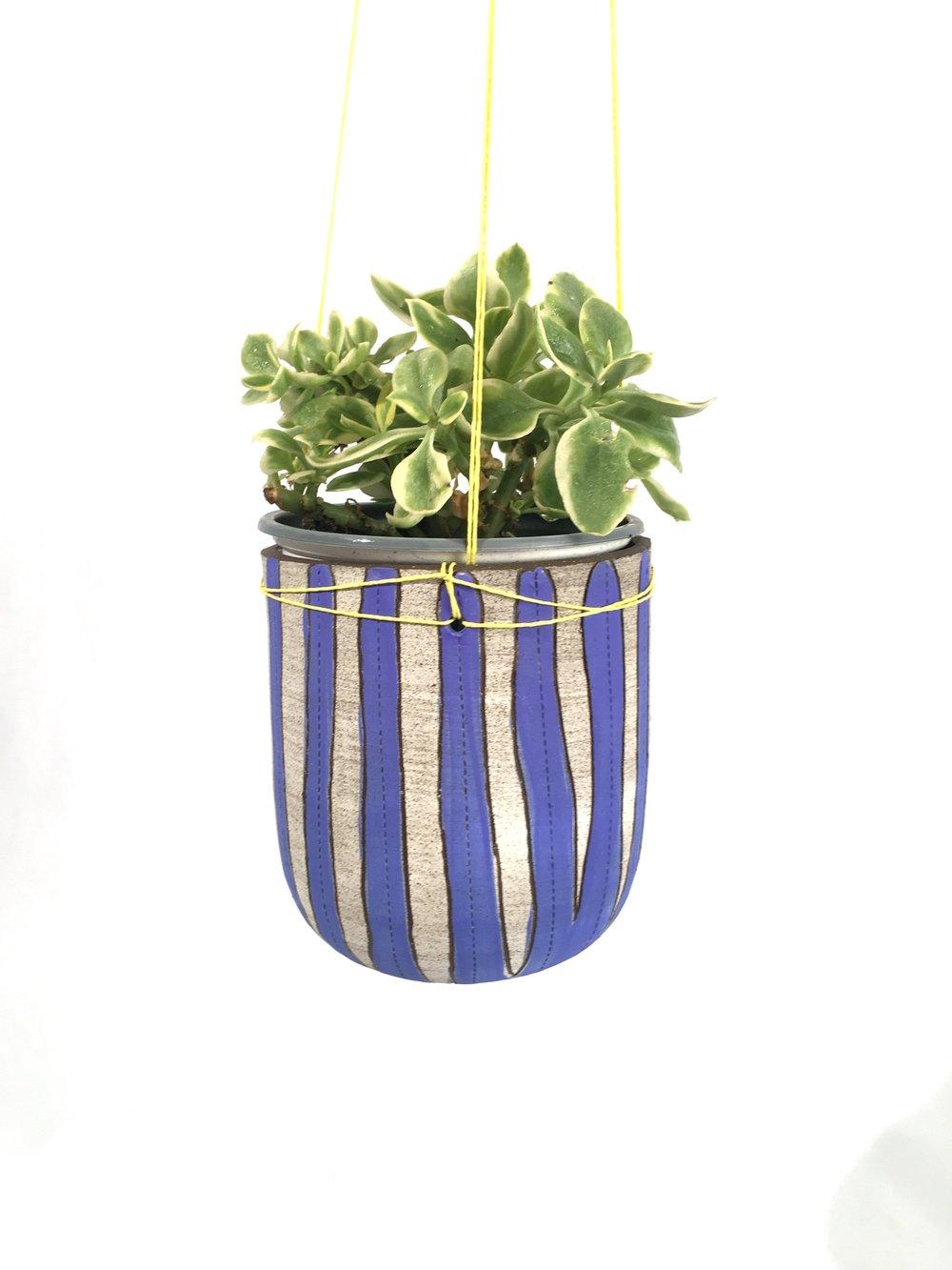 Stripey Planter