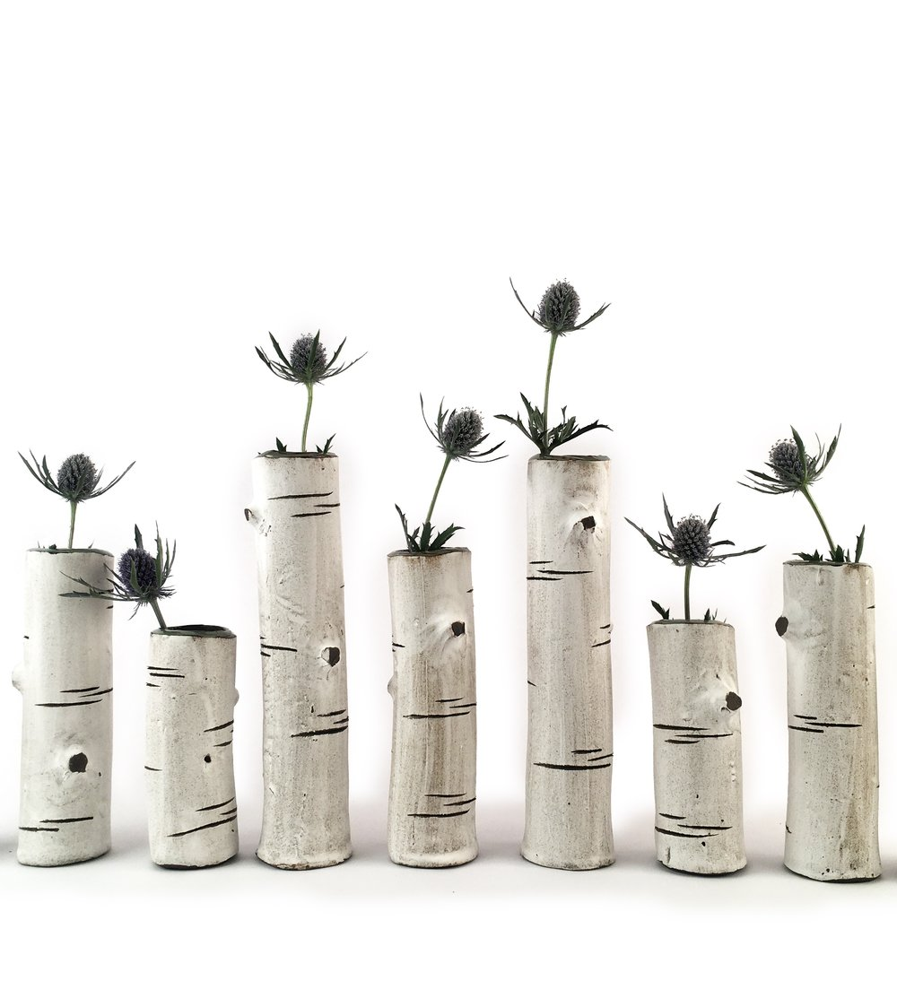 Jeff Ham Ceramics bud vase set.jpg