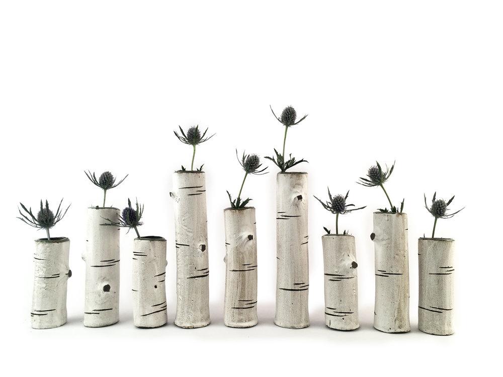 Jeff Ham Ceramics bud vases.jpg