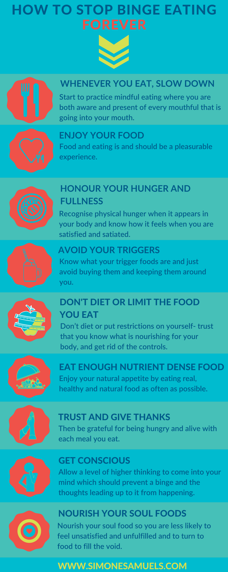 how-to-stop-binge-eating-forever-infographic