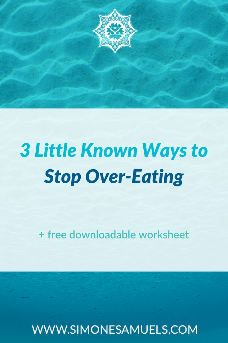 It might seem like it's impossible for you to know when to stop eating, or that you always give in to your cravings, however with implementing these three simple mindset tools, you should find that it is much easier to stop overeating. Along with techniques such as intuitive eating and using a hunger and fullness scale, these lesser known mindset adjustments could be the missing ingredients when it comes to working on weight management and reducing food (sugar) cravings for good.