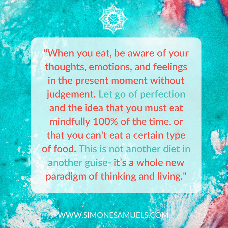 Quote from the Blog 5 Intuitive Eating Mistakes You Don't Want to Make