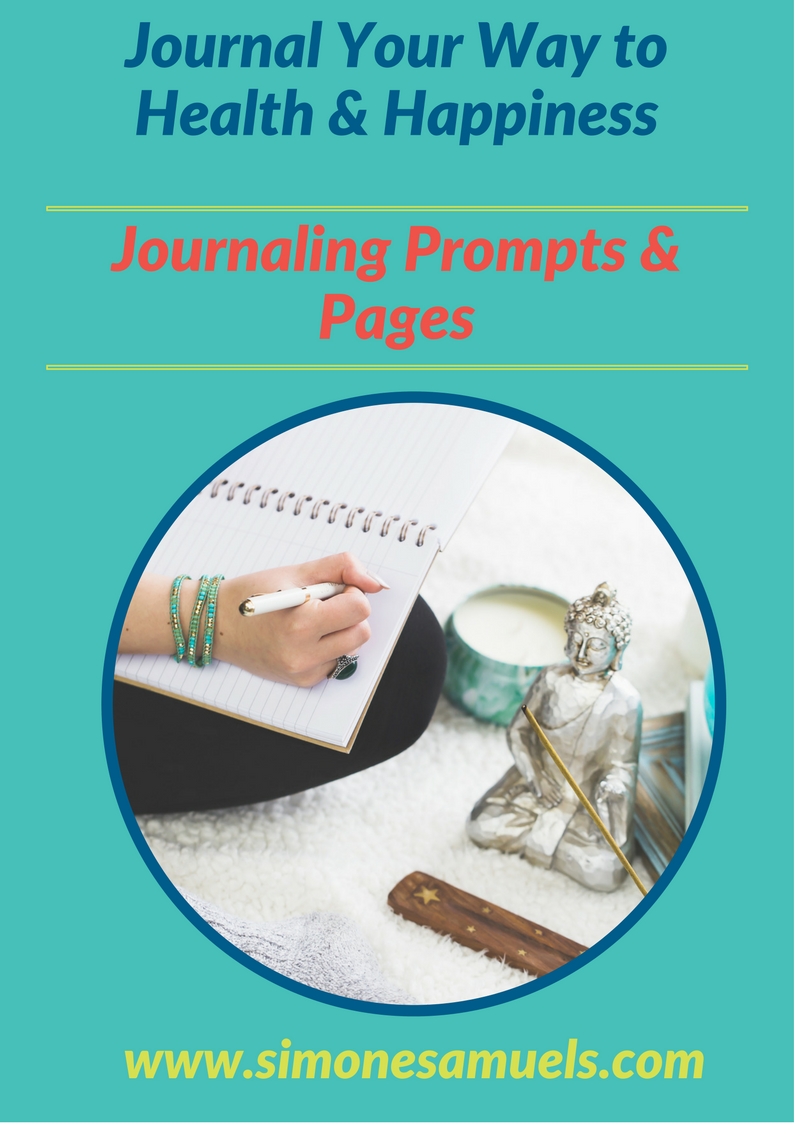 Joural your way to health and happiness with these prompts and journal pages