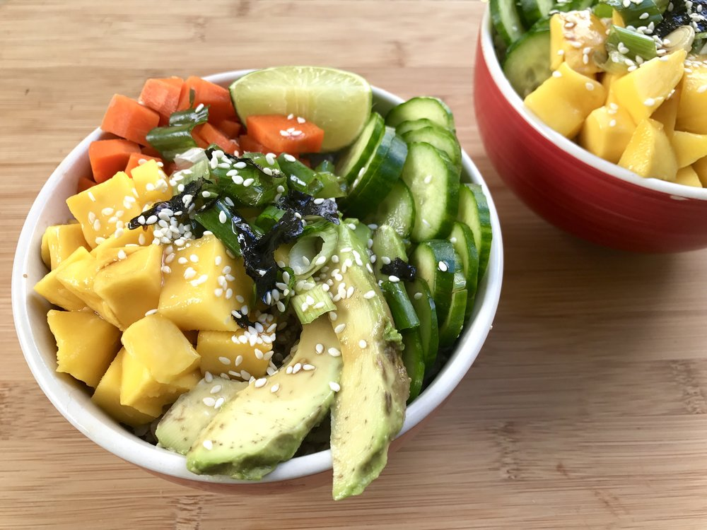 Thyroid-Friendly Iodine-Rich Veggie Sushi Bowl Recipe