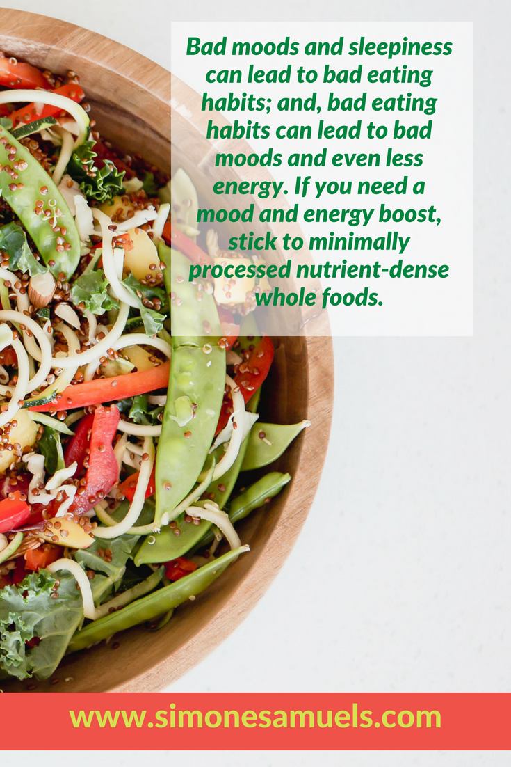 The best energy and mood boosting foods- Simone Samuels- Blog