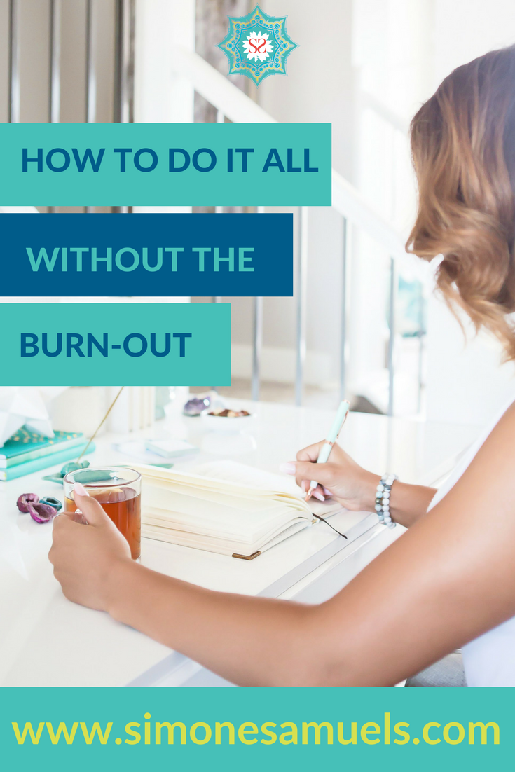Tips for how to do it all without the burnout + bonus PDF guide with 12 healthy habits to boost the mind, body & soul