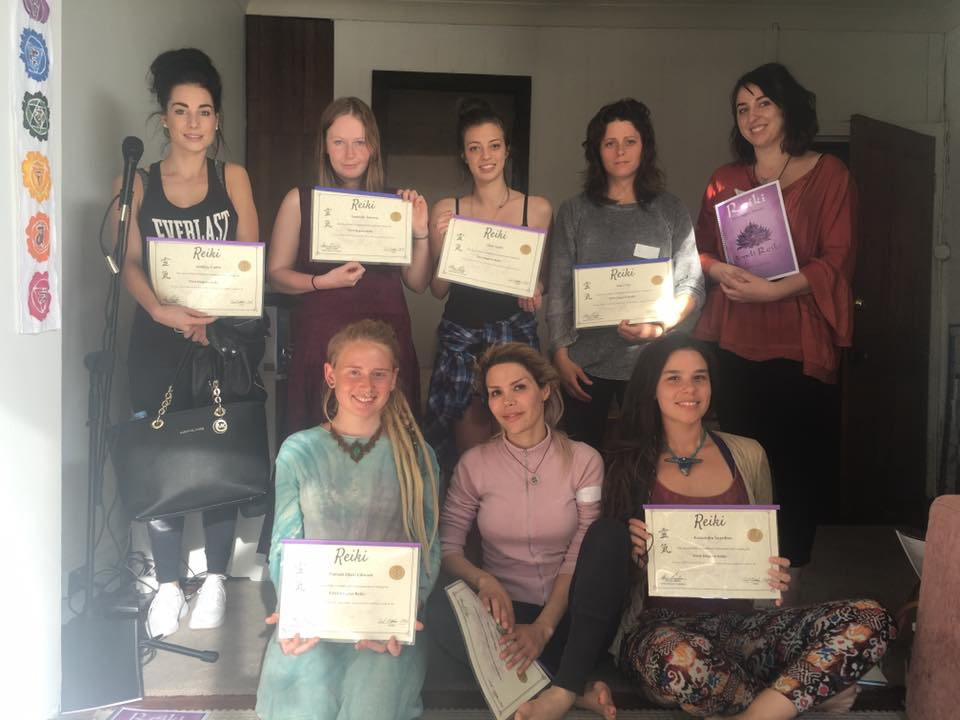 The Temple Reiki with Athina Bailey