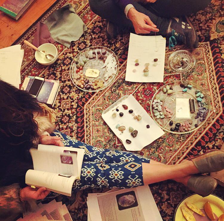 The Temple Working with Crystals with Kassandra Scardino