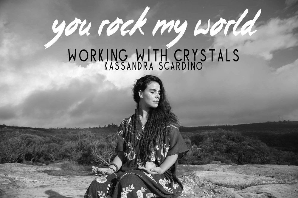 Working With Crystals Sydney Saturday October 14th