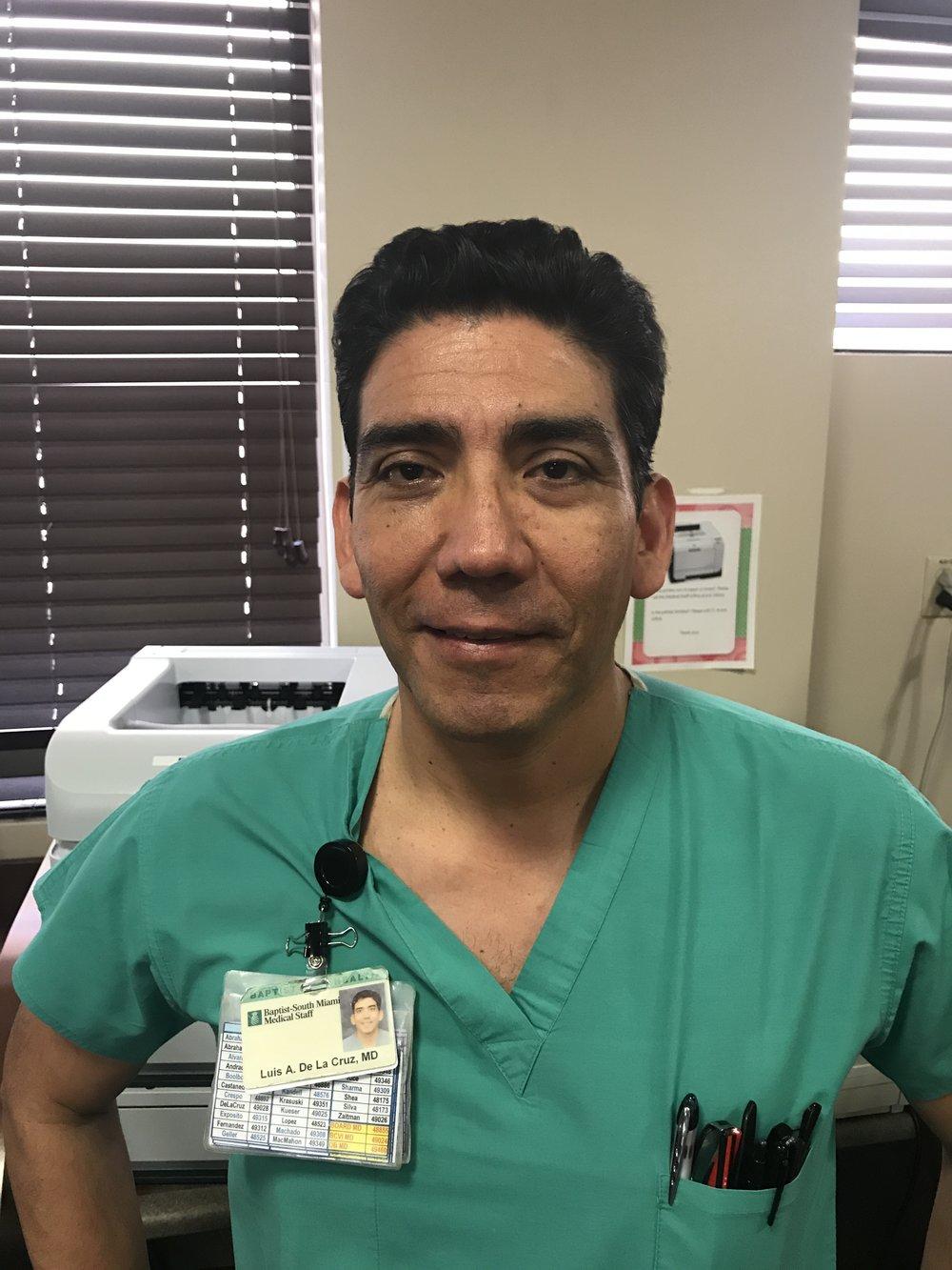 Luis de la Cruz MD-Tesorero