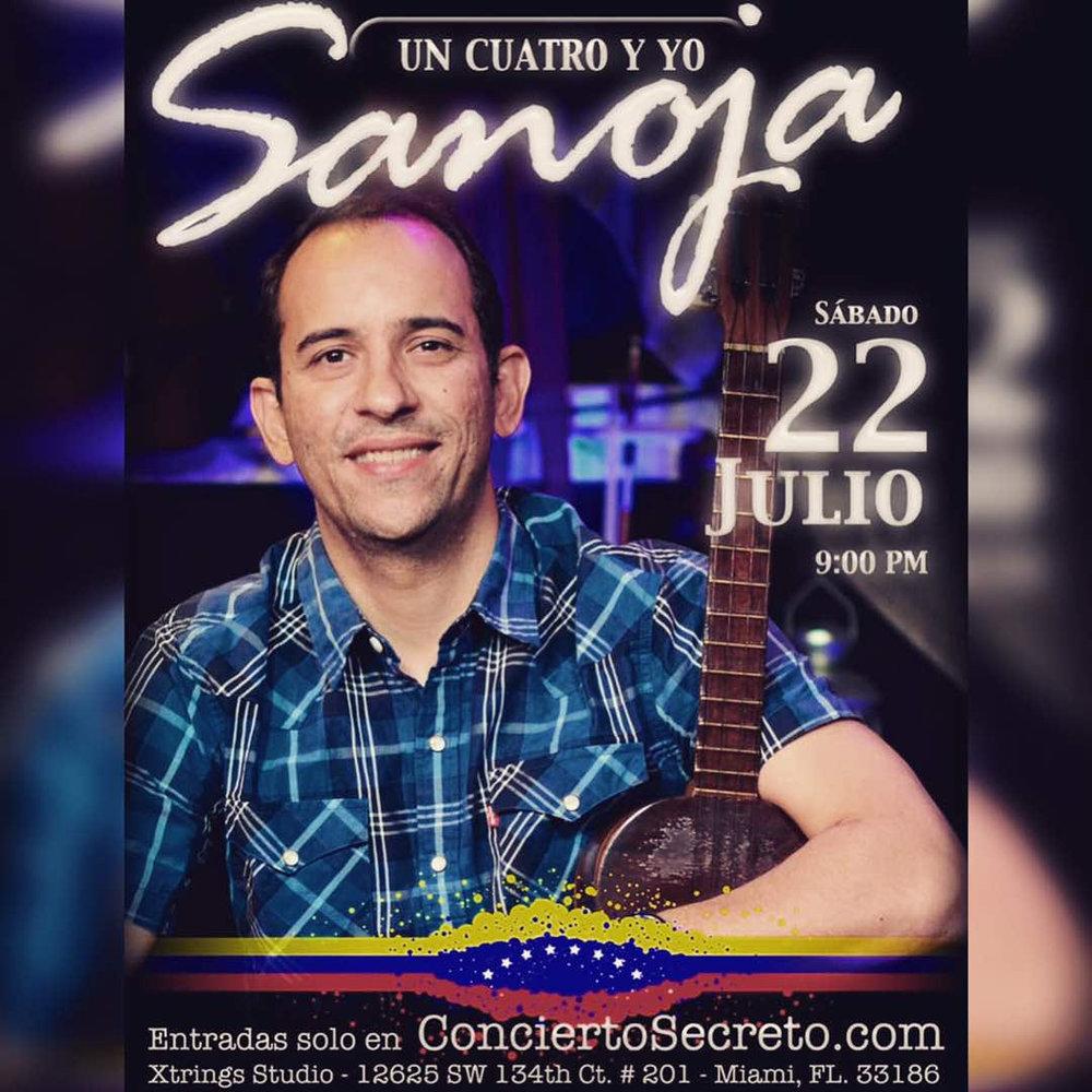 - VAMA te invita a disfrutar de la buena música venezolana de la mano de Alonzo Sanoja en el cuatro y Hernán Matute en el Contrabajo. Acompañanos a compartir una noche de tertulias y arte. No faltes!!!