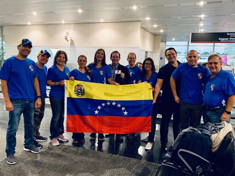 Grupo de Médicos Venezolanos viaja en misión humanitaria