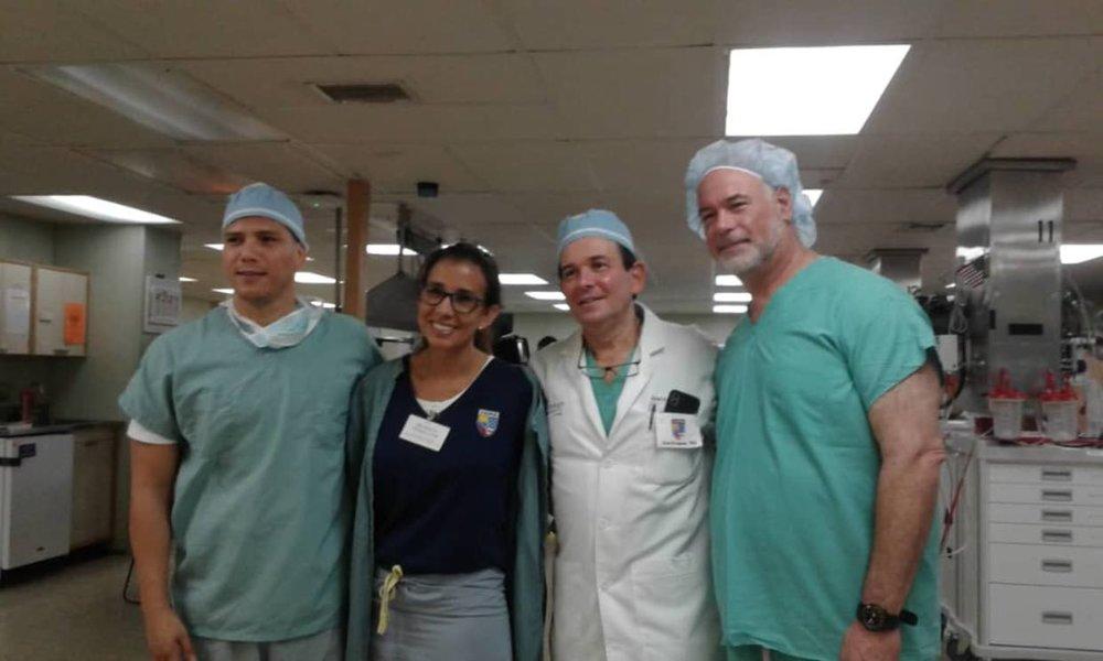 El relato de médicos venezolanos que apoyan en el buque hospital Comfort