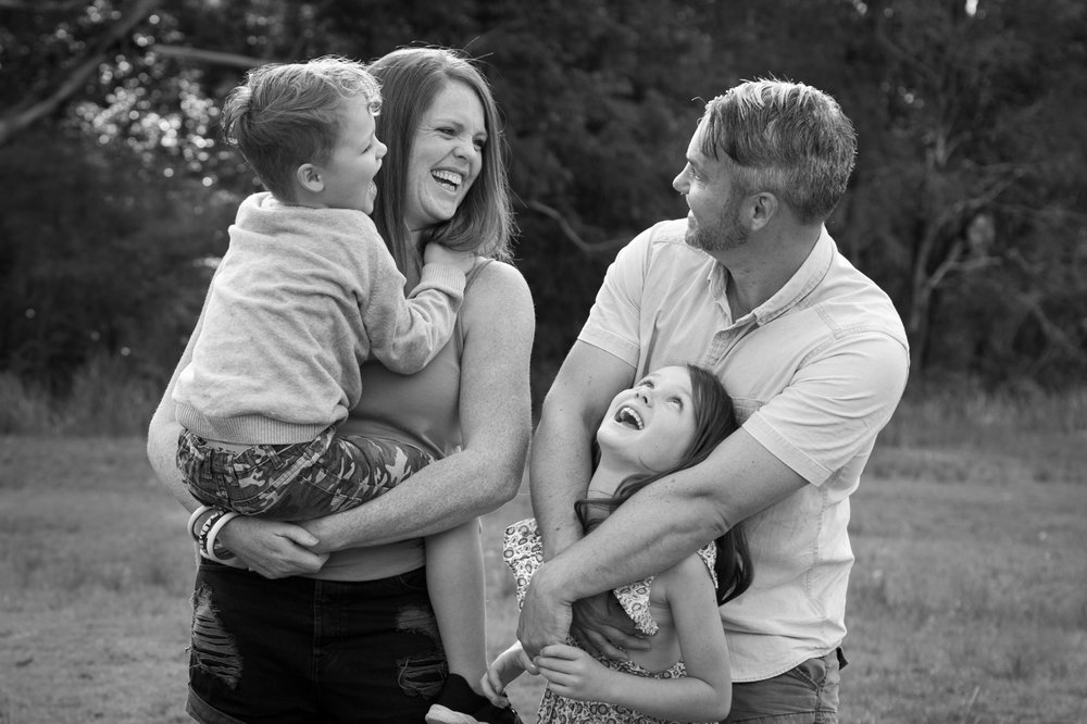 Family documentary photography Central Coast