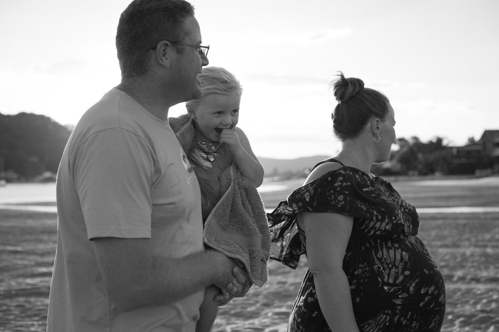 central coast maternity photographer family at ettalong