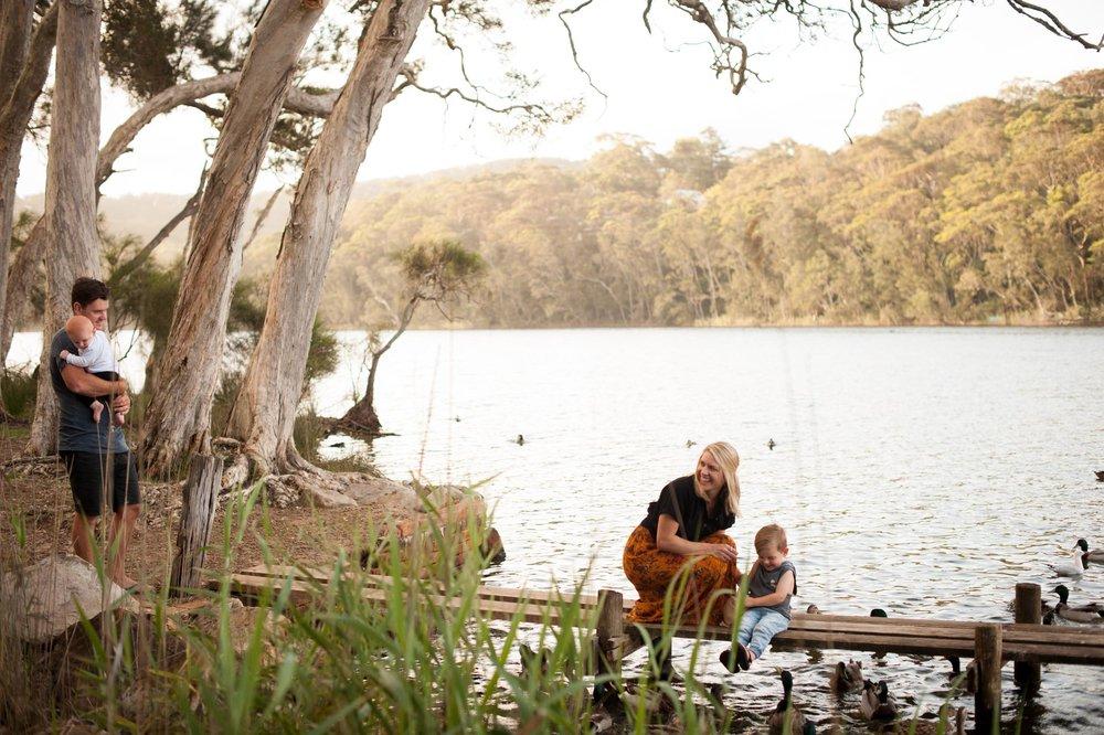 natural family photos macmasters beach nsw