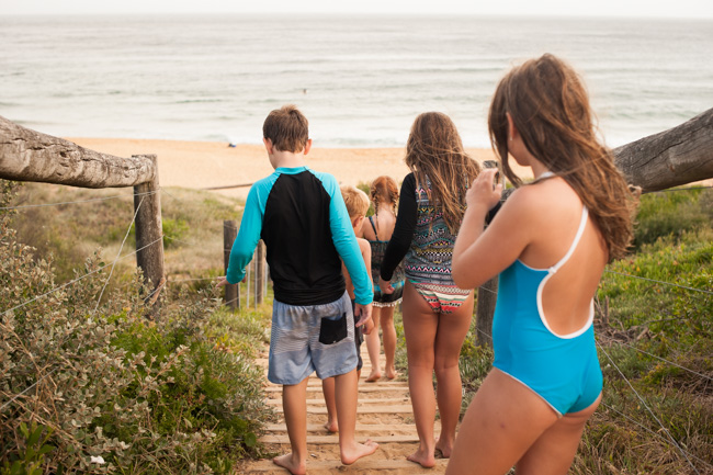 beach family photos shoot copacabana nsw