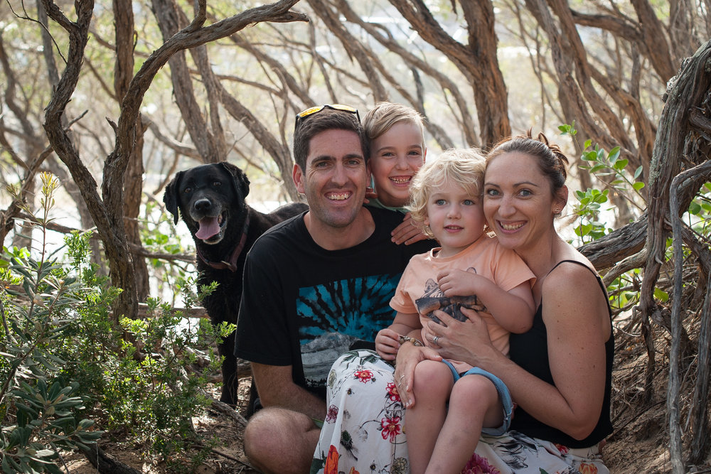 professional family portraits wamberal nsw