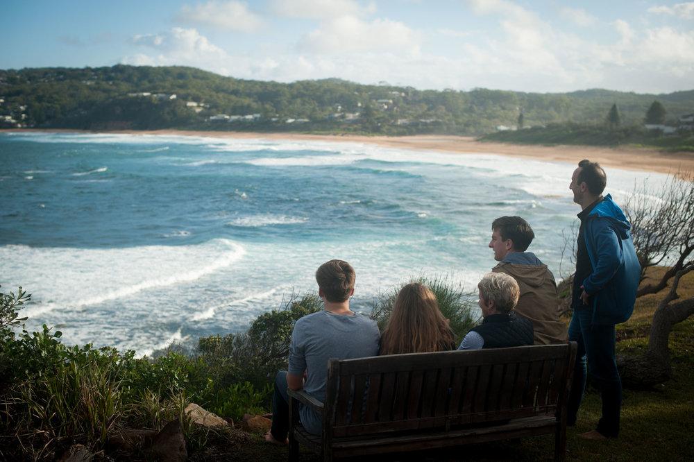 beach family photos copacabana