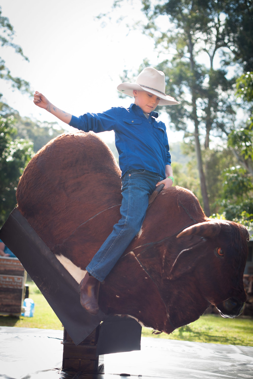bucking bronco riding