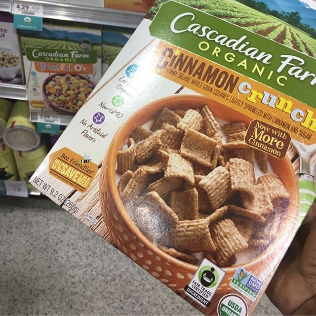 Making the switch from regular cereal to cereal that doesn't have #gmos My oldest knows what to look for! I think it's important to educate our kids on making healthy decisions.  #motherhood #singlemothersrevenge #singlemomsrevenge #singlemomlife #singlemom #singlemomminit #singlemomsbelike #singleparent #singleparenthood #motherhood