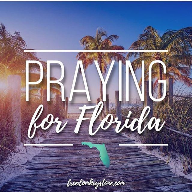 After my last post I had no idea that we here in Florida would get hit by hurricane #Irma but we did and the girls and I are safe 💜 Please continue to pray for other affected.