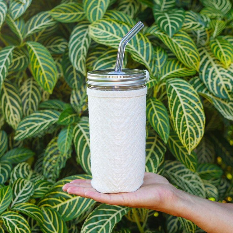 Glass: simply straws -
