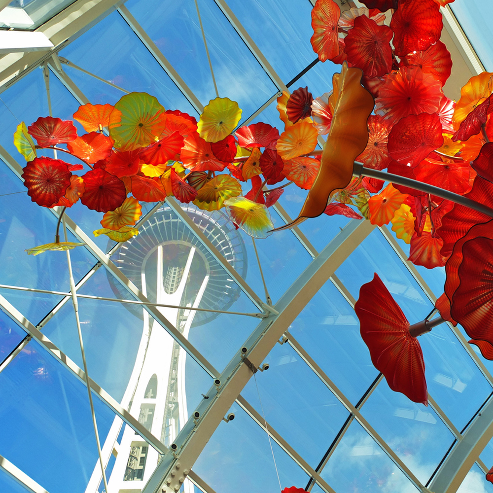 Chihuly Garden & Glass and the Space Needle