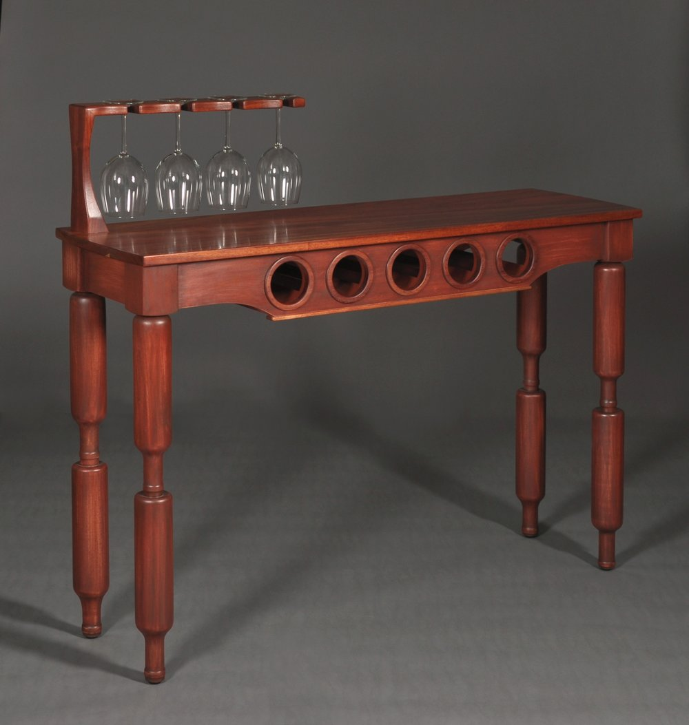 Red wine table