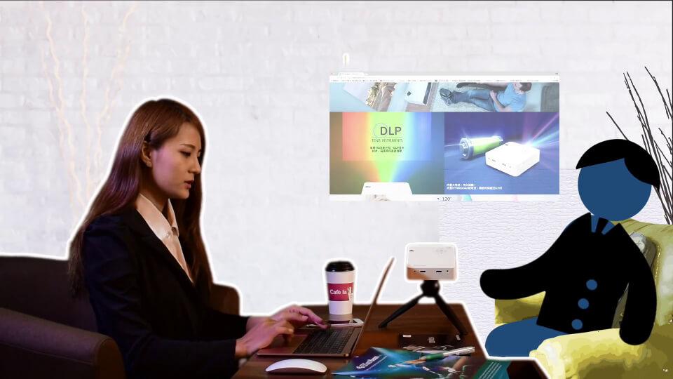 Make business presentations anywhere.
