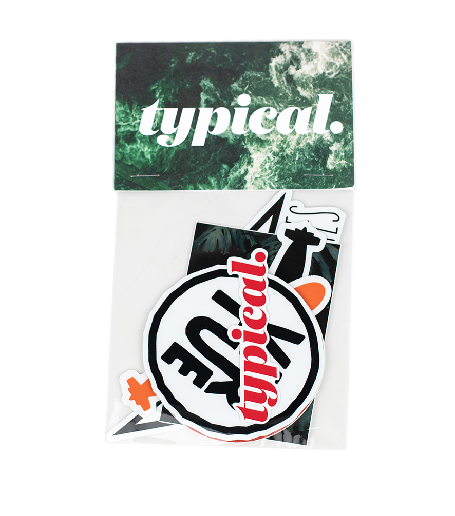 Typical Sticker Pack - $7.00