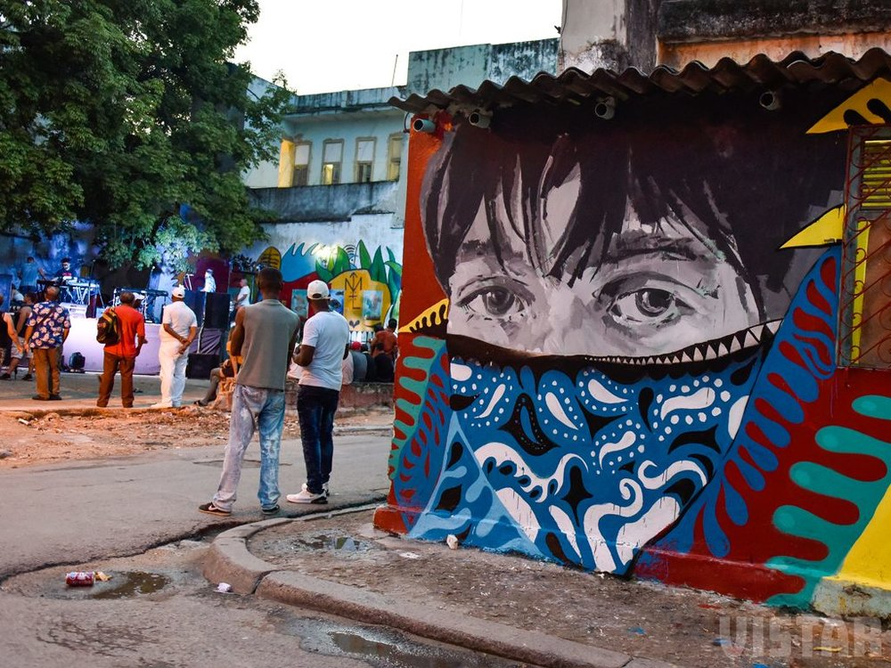 Art   Visit some of Havana's best cultural neighborhood's and galleries, such as the up 'n' coming San Isidro Arts District in Habana Vieja (above).
