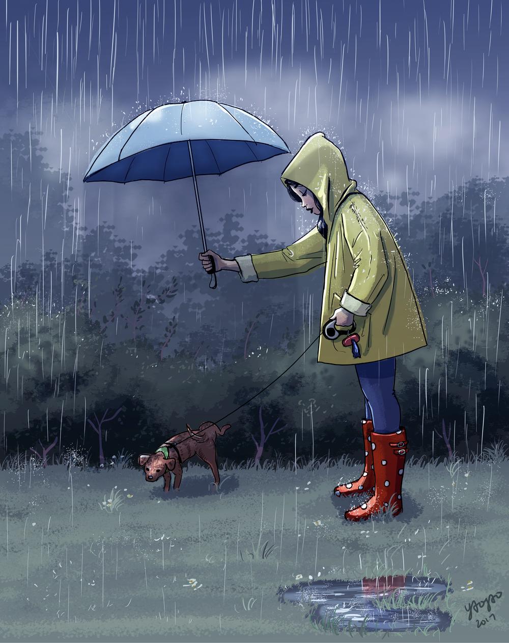 Parker Hates The Rain