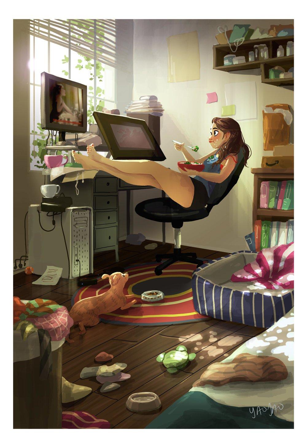 Full Time Procrastinator (II)