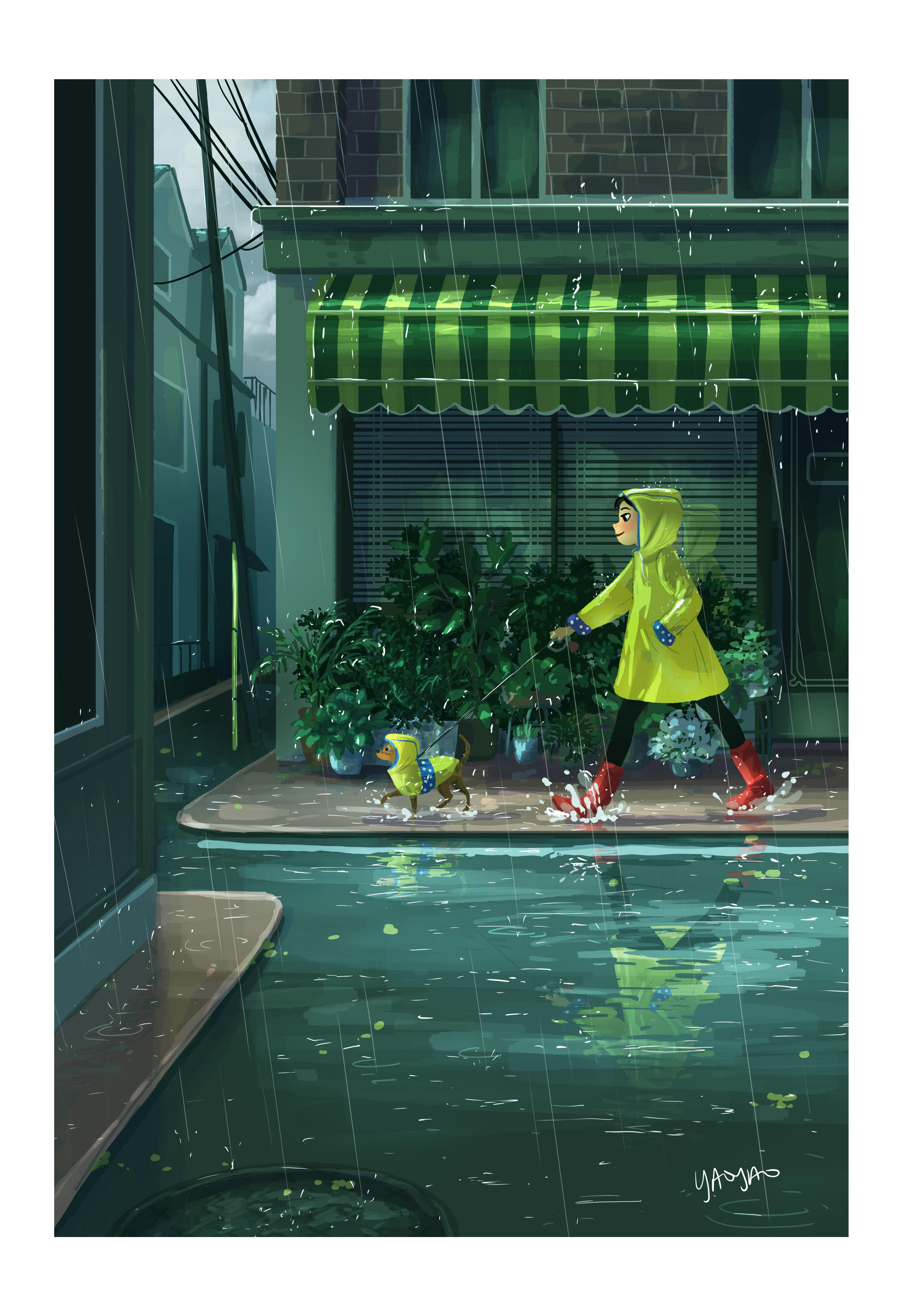 Rain Or Shine- Rain