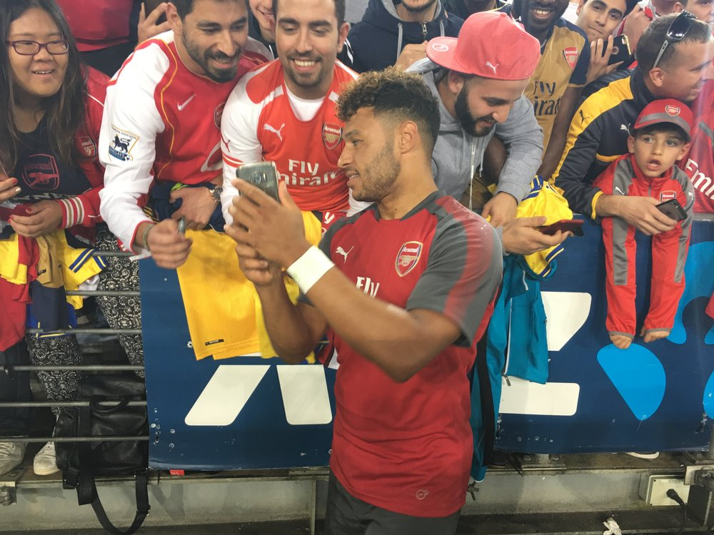 Fan day with the Ox
