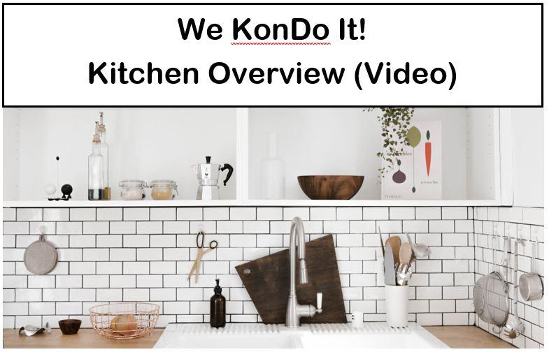 How to Declutter Your Kitchen the KonMari Way (Week 2) — We KonDo It!