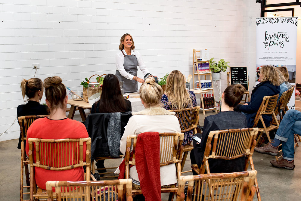 Healthy food workshops Perth