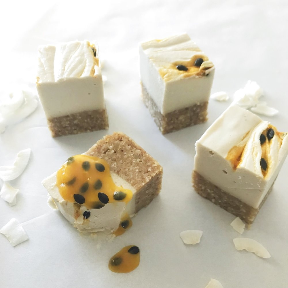 lemon & passionfruit cheesecake.JPG