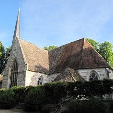 DOUDEAUVILLE-EN-VEXIN   Eglise Saint-Aubin