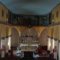 LE MOULE   Eglise   Saint-Jean-Baptiste