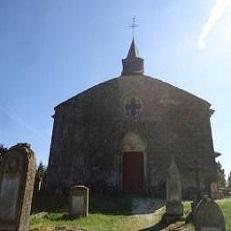 MARVILLE   Eglise et cimetière Saint-Hilaire