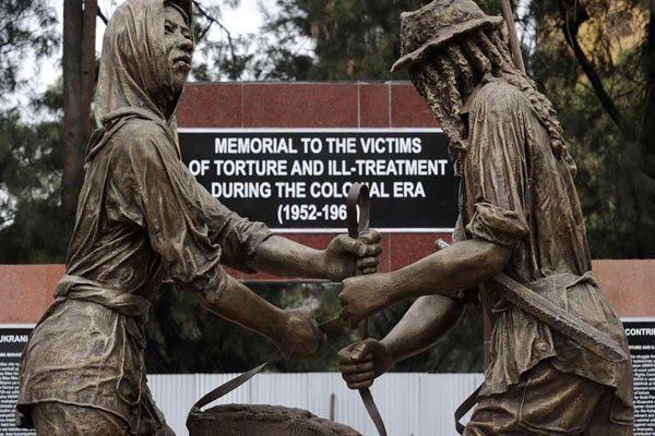 A memorial in honour of victims of torture in Kenya during the British colonial era was unveiled in 2015 with the support of the British government.