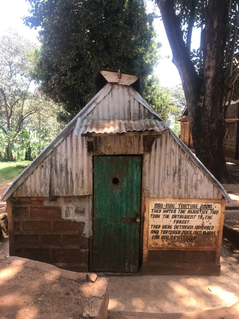 Former torture room at Mweru Works Camp