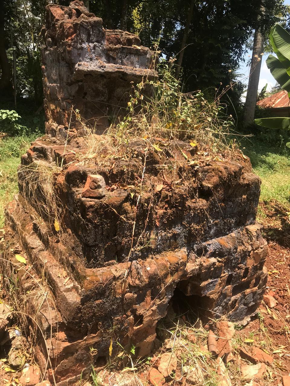 The surviving brick-making kiln from Mweru Works Camp